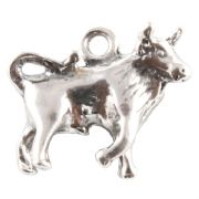 Taurus The Bull 3D Zodiac Sterling Silver Charms